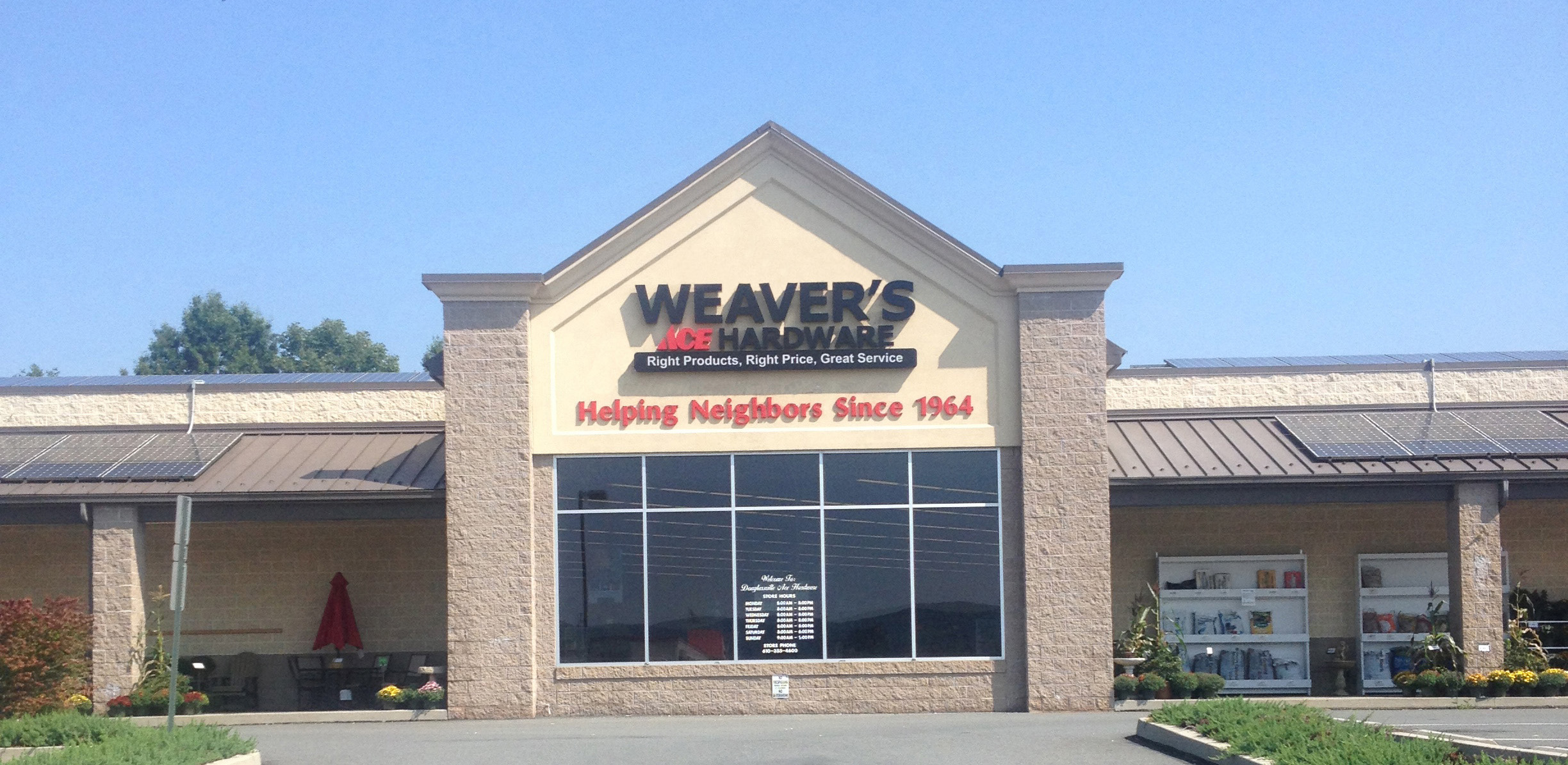Weaver's Ace Hardware At Douglassville