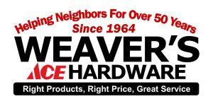 Weavers's Ace Hardware Logo