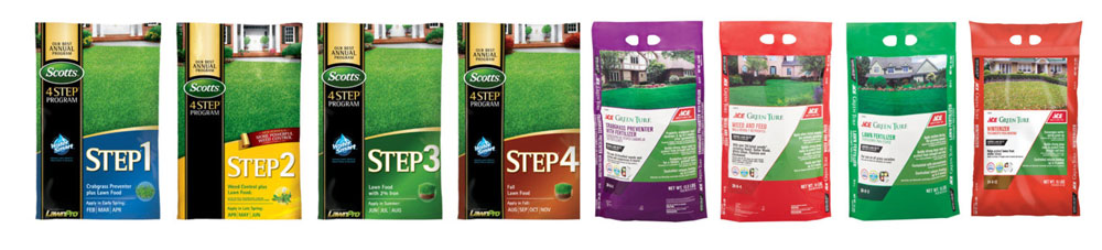 4 step fertilizer-program
