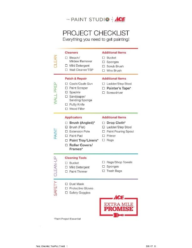 Checklist For Painting A Room Mycoffeepot Org