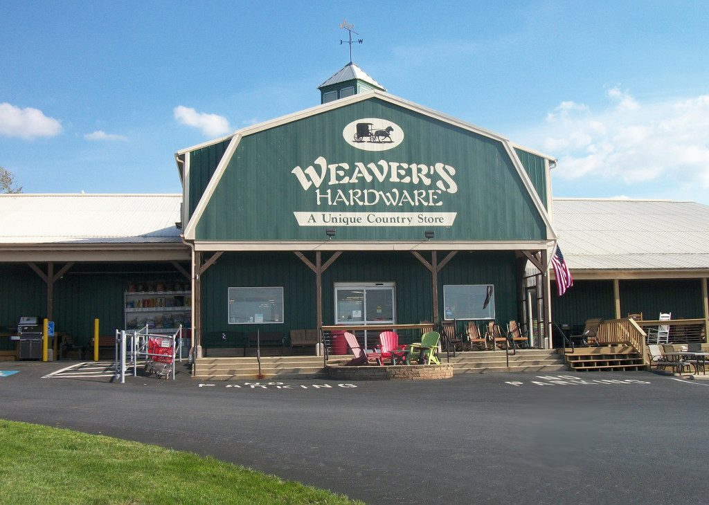 Weaver's Ace Hardware at Fleetwood, PA